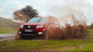 Dacia Sandero Stepway Test Sürüşü / Off-Road koşullarında ne kadar iyi ?