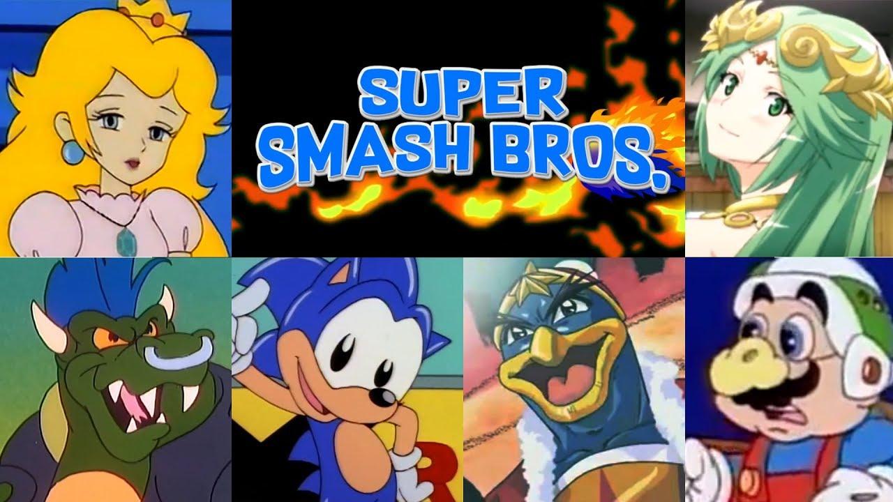 Download Super Smash Bros. 4   The Animated Intro