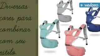 d762ac2ba Canguru Ergonômico Múltiplas Posições - Conforto e Segurança para seu Bebê  - YouTube