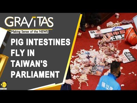 Gravitas: Taiwan's legislators fight over pork import