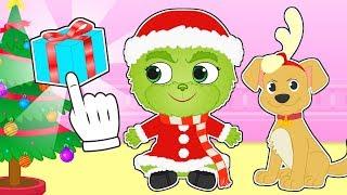 BEBE ALEX 💚 Disfraz de El Grinch para robar la NAVIDAD 🎅 Dibujos animados infantiles