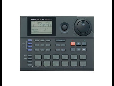 Yamaha RY 20 Drum Machine - ALL Patches and Styles Demo !