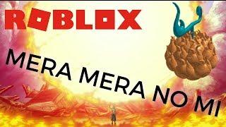 MERA MERA DEVIL FRUIT MOVES! || Ein Stück bizarre Abenteuer || ROBLOX