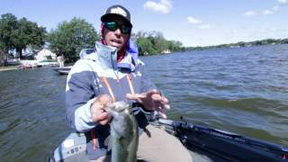 Smashing Largemouth Bass on Jigs and Chatterbaits with Mike Iaconelli Part1of2