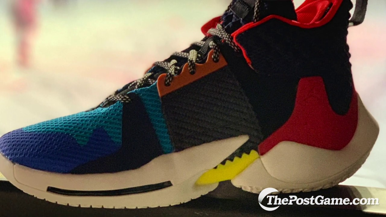 6f3cc63d137 Russell Westbrook's Why Not Zer0.2 Shoe By Jordan Brand - YouTube
