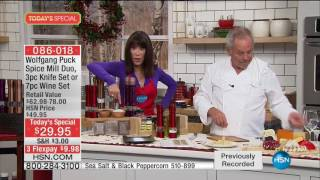 HSN  Chef Wolfgang Puck Holiday Gifts 12.11.2016 - 04 AM