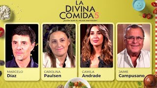 La Divina Comida - Marcelo Díaz, Carolina Paulsen, Camila Andrade y Jaime Campusano