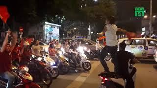 VTC14 | TP HCM: Giao thông hỗn loạn trong đêm mừng chiến thắng U23 Việt Nam