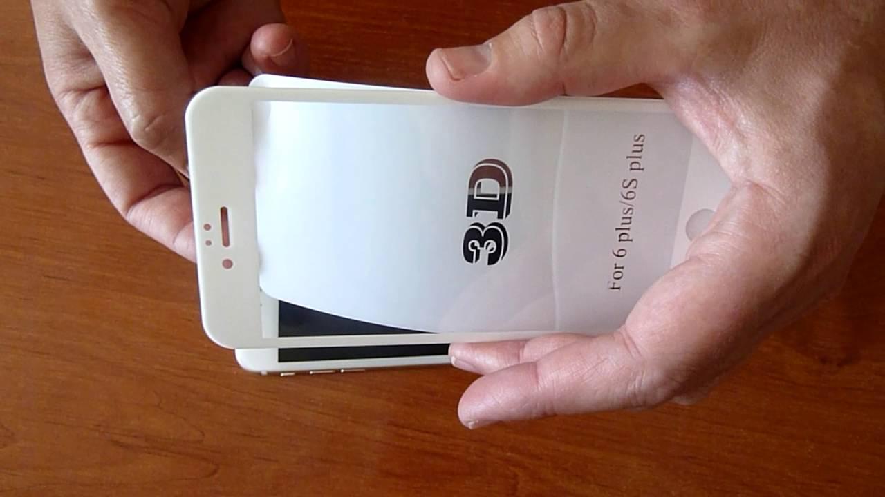 b17ffdff920 Como colocar un protector de pantalla 3D en un iPhone 6 Plus - YouTube