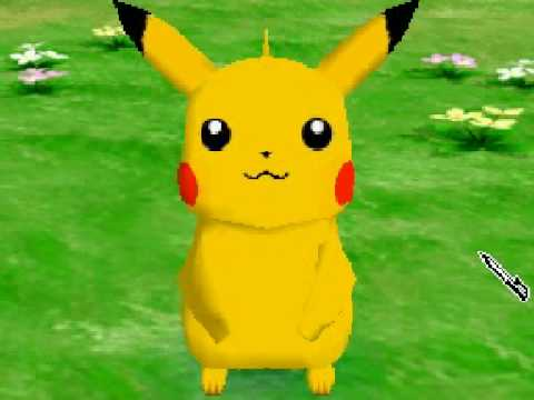 Playing With Pikachu