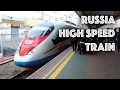 TRIPREPORT | Russia: High Speed Train from Moscow to St. Petersburg