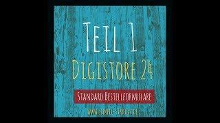 Digistore 24 Produkt anlegen, Standard-Formulare und Bilder erstellen