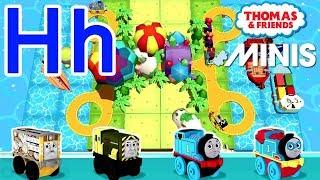 Hh — Thomas ve Arkadaşları Mini ile Öğrenmek Akk Kendi mektup 'Senin'H'' Tren yolu İnşa Verilmiştir.
