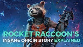 The Insane Origin Of Rocket Raccoon
