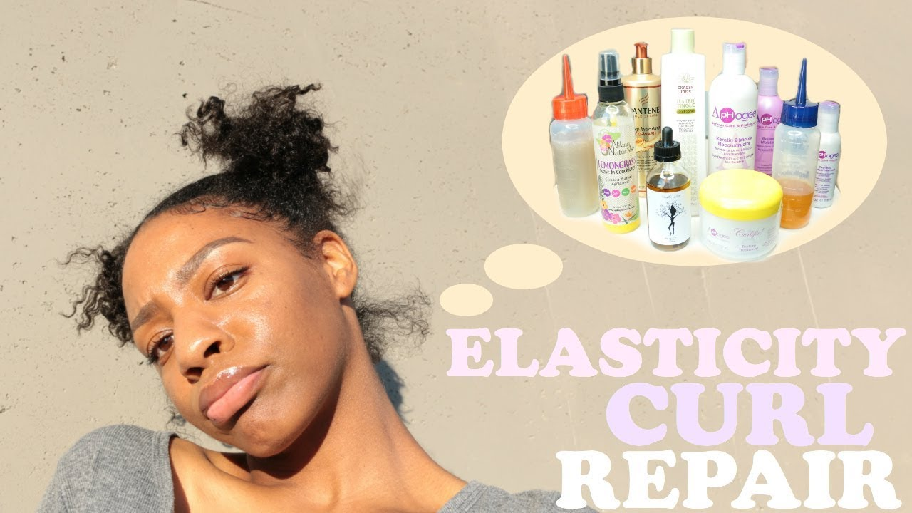 Elasticity Protein Curl Repair For Damaged Natural Hair Products
