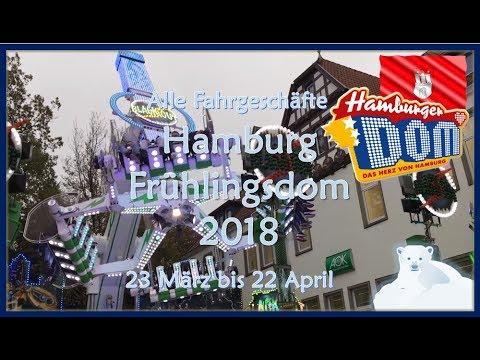 Alle Fahrgeschäfte | Frühlingsdom Hamburg (2018)