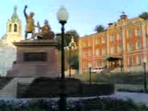 стены Кремля в Нижнем Новгороде