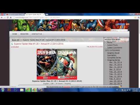 Tutorial: How To Download Comics