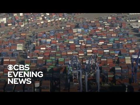 Supply chain bottleneck hurting U.S. businesses