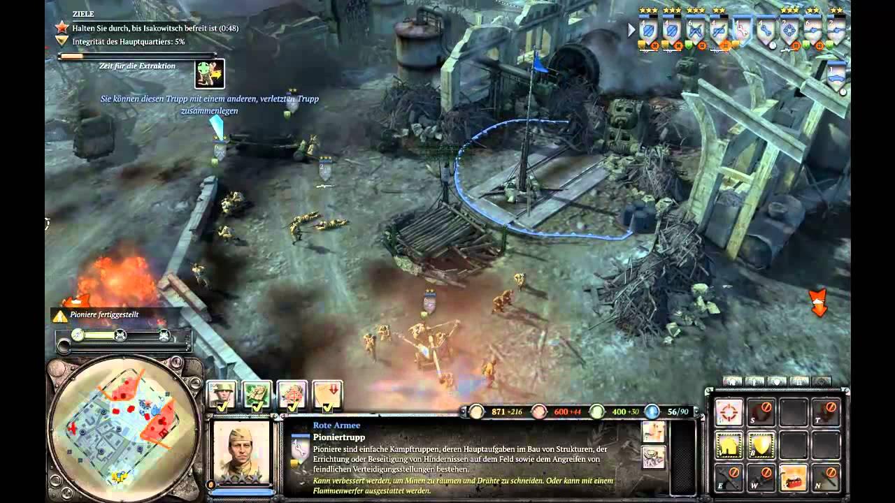 Lets Play Company of Heroes 2 Deutsch Teil 15 (BLIND) \