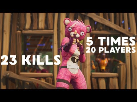 23 KILLS NOVO MODO - Fortnite Battle Royale