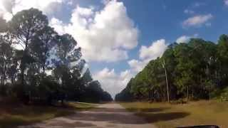 Driving through Ghost Town of Lehigh Acres, FL in a Corvette