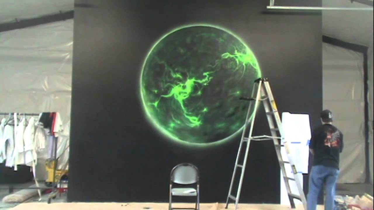 10th planet wall mural youtube