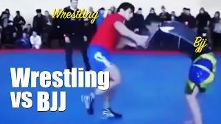 Wrestling vs BJJ Brazilian Jiu jitsu
