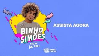 #Live Binho Simões Ao Vivo #FiqueemCasa e Cante #Comigo