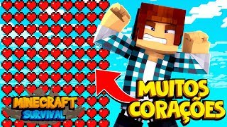 Minecraft Survival #20 - VIDA INFINITA !!