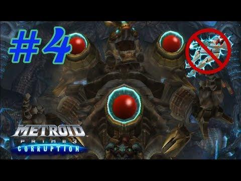 Metroid Prime 3: Corruption No Hypermode Challenge: Part 4 (Shield Generators and Mogenar)