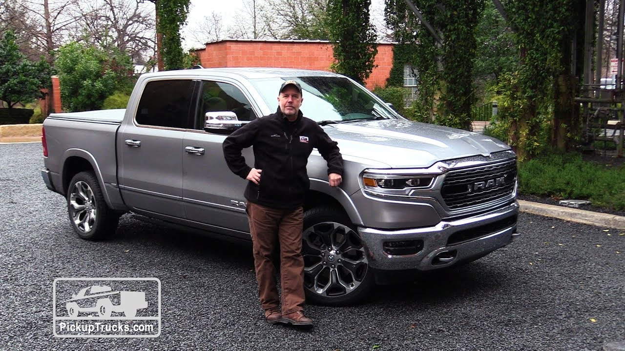 2019 Ram 1500: First Drive — PickupTrucks.com - YouTube