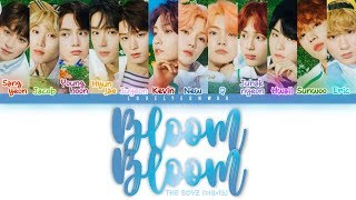 ................................................................................ artist: the boyz (더보이즈) song: bloom album: 'bloom bloom' single member...