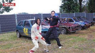 Crazy! Jamie-Lee en Maximiliaan doen aan autovoetbal ⚽🚗