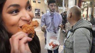 Ice Poseidon Feeds Homeless KFC