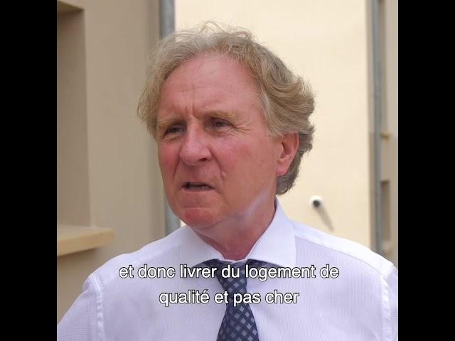ALILA - Inauguration de OPUZ VERDE à Bonnières 1/2 -Jean-Marc POMMIER - Maire de Bonnières-sur-Seine