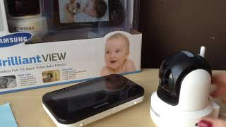 Видеоняни Samsung SEW-3041w обзор