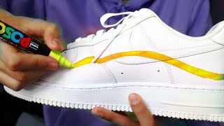 Custom Nike Air Force1 Without Rs. 1,00,000 Markers (100% Clickbit)