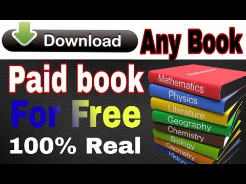 How to Download any book for free in PDF. 100% Real and working.  