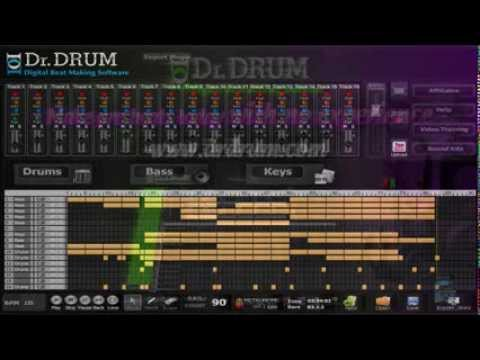 Professional drum beat maker for PC and MAC - music composition software