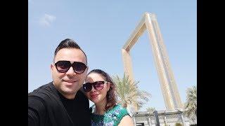 Dubaj Frame nevezetesség - Idegenvezetés 150m magasságból!!!