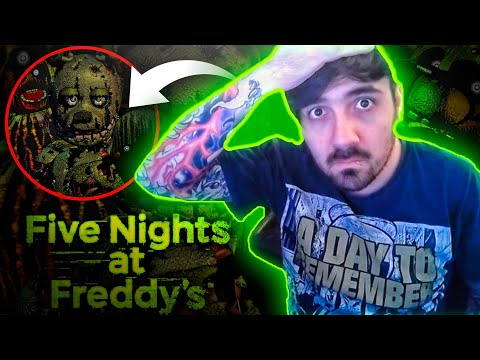 Te reto a ver esta noche entra sin asustarte IMPOSIBLE | Five nights at freddy's Help Wanted FNAF 3