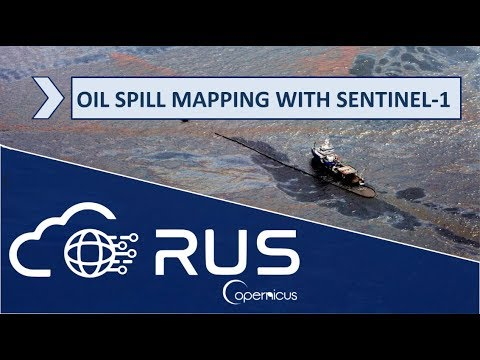 RUS Webinar: Oil spill mapping with Sentinel-1 - OCEA03