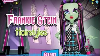 Monster High Frankie Stein Hairstyle Game Video