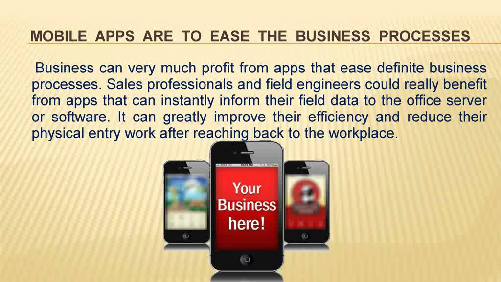 Reasons Why Every Business Need Mobile Application   Master Software Solutions