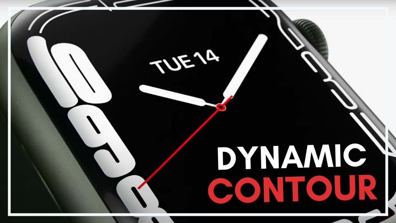 Download Get The EXCLUSIVE Series 7 'CONTOUR' Watch Face On ANY Apple Watch! (Including Series 3,4,5,6 & SE!)