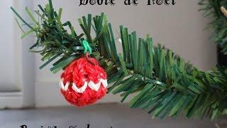 comment tricoter boule de noel