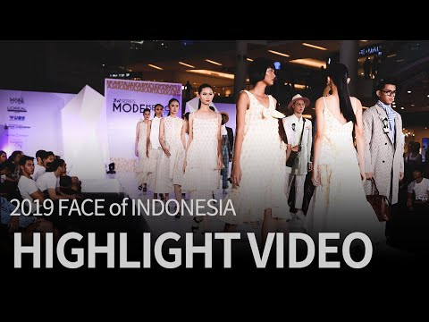 2019 FACE Of INDONESIA Highlight Video
