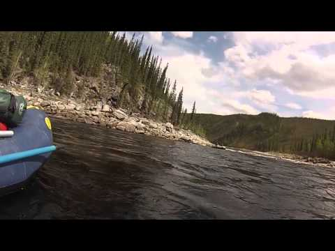Fortymile River Rafting