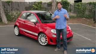 2012 Fiat 500 Abarth Test Drive & Sub-Compact Car Video Review